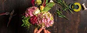 Blumenstrauss binden