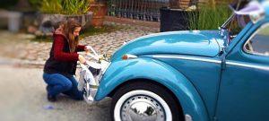 Auto Hochzeitsschmuck